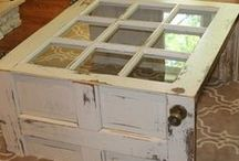 Repurposed! { Furniture } / Home and yard furnishings from salvaged remnants and pieces