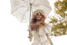 Parasols, SunnyBrellas, BridalBrellas & umbrellas  / A fun collection of fancy umbrellas and parasols, aka, #SunnyBrellas. Great ideas for home decor, weddings, tea parties, and practical applications for UV protection.