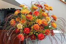 Fabulous Florals / Weekly floral arrangements from the visitor center