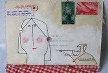 luvz me some mail art! / expressive and creative envelopes - what a treat to receive!