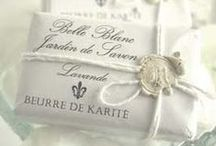 Earthy & Elegant Packaging / Down to earth, classy labels for personal care and wellness products.