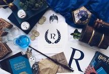 House of Ravenclaw / The house of the eagel, blue and bronze, the wise, wit, learning and quirky. Named after Rovena Ravenclaw, guarded by an eagel knocker on the door, with a house-ghost named The Grey Lady, aka Helena Ravenclaw. Head of the House is Filius Flitwick. - Theme: Crazy = Genius