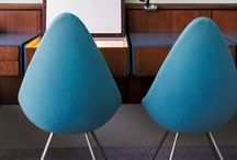 Danish Modern Workspace / Danish and Scandinavian modern style in the office
