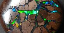 OPALS ... Catching the Rainbow! / My gem of gems ... elegant opal enriches everything it touches.