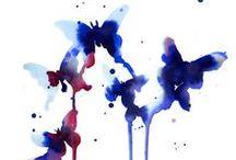 inspiration: watercolour