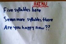 GOING HAIKU ...! / 5 7 5 ... Less is often so much more.