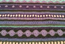 ❤️ Made by Sa'Sa - Stependeken 2014 / Mijn strependeken van de Dutch Crochet Along 2014. In 48 weken een deken haken.