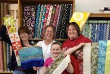Fun with Friends / All things quilting happening at the store