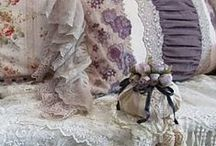 Costuras, rendas, fitas e bordados