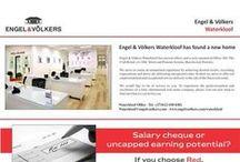 Recruiting at Engel & Völkers Waterkloof / Engel & Völkers Waterkloof has found a new home and is now recruiting.