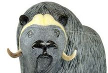 Masterpieces / Some of the most magnificient pieces of Inuit art by some of the most famous inuit artist around!