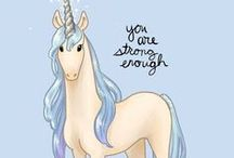 UNICORN Einhorn / Do you belive in Unicorns?