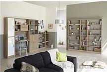 Kancelář a domácí pracovna / Designově vyladěná, útulná a prakticky vybavená kancelář je základem pro vaši práci, ať už v kanceláři nebo ve vaší domácí pracovně. Podívejte se na psací stoly, kvalitní kancelářské židle a úložné prostory nejen pro vaše dokumenty.