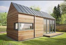 """Eco Pod / Ekologiczna """"łupina"""" / Pod Space / nowoczesna STODOŁA / Domki zostały zbudowane z wykorzystaniem elementów przyjaznych środowisku i idealnie dopasują się do naturalnego otoczenia każdego ogrodu."""