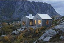 Chata Vega / Kolman Boye Architects From the architect / nowoczesna STODOŁA / Dom stoi na wyspie Vega, która należy do norweskiego archipelagu leżącego w pobliżu koła polarnego.