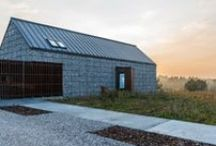 Dom w krajobrazie / Kropka Studio / nowoczesna STODOŁA / Jednorodzinny Dom na Jurze powstał na działce położonej pod Zawierciem.