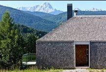 DOM GÓRSKI / GEZA / nowoczesna STODOŁA / Założeniem było dostosowanie budynku do rodzaju domu górskiego, pod kątem zarówno projektu, jak i wykorzystanych materiałów.