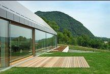 HOUSE HB / Bevk Perovic Arhitekti / nowoczesna STODOŁA / Dom HB dąży do utrzymania ikonograficznego motywu tradycyjnego domu.