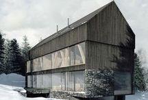 LODGING HOUSES IN KARPACZ / Studio de.materia / nowoczesna STODOŁA / Projekt obejmuje dwa pensjonaty i dwa domy letniskowe.