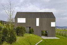 Neubau Gottshalden Gottshalden / Rossetti + Wyss Architekten / nowoczesna STODOŁA / Ten współczesny dom w Zurychu wyróżnia się wysokością i niepozornością zarazem.
