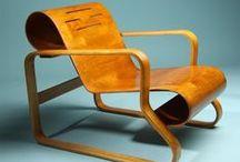 ARMCHAIR 41 PAIMIO / Alvar Aalto / nowoczesna STODOŁA / Fotel 41 Paimio jest chyba najbardziej znany z wszystkich projektów meblowych Alvara Aalto.