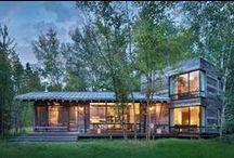 Northshore Cabin / Pearson Design Group / nowoczesna STODOŁA / Prostota jest ROZWIĄZANIEM. Witaj w DOMU.