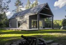 Hunting House / Devyni architektai / nowoczesna STODOŁA / Rodzinny domek myśliwego, wybudowano na niewielkim wzgórzu, w głębokim litewskim lesie.