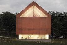 """Architecture Studio, Kilrea / McGarry-Moon Architects / nowoczesna STODOŁA / Projekt domu, który nosi nazwę """"Fallahogey House"""", jest zdobywcą prestiżowych nagród."""