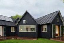 Village House / Powerhouse Company / nowoczesna STODOŁA / Patrząc na ten dom można zauważyć, że to nie ma on tradycyjnego, kwadratowego kształtu.