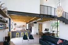 Garden Street Residence / Pavonetti Architecture / nowoczesna STODOŁA / Ten niewielki domek w Austin w USA łączy czysty modernizm ze starymi regionalnymi budowlami, takimi jak stodoły i stajnie, których wciąż jest pełno w wiejskich rejonach Teksasu