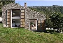 Estate In Extremadura / Abaton Arquitectura / nowoczesna STODOŁA / Celem projektu było przekształcenie w dom rodzinny opuszczonej stajni znajdującej się w hiszpańskiej prowincji Caceres