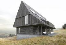 DOM W GÓRACH / BASK grupa projektowa / nowoczesna STODOŁA / Górski dom w nowoczesnej formie, czerpiący ze stylistyki sudeckiej