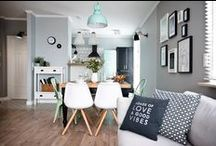 RETRO & Mennicy / Shoko Design / nowoczesna STODOŁA / Genialnie zaprojektowane mieszkanie w stylu retro.