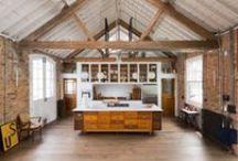 Paper Mill Studios / Gresford Architects / nowoczesna STODOŁA / Londyński zakład papierniczy wyjątkowym miejscem pracy dla kreatywnych twórców.