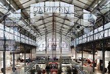 Pavilon / Martin Leitgeb / nowoczesna STODOŁA / Na powierzchni ponad dwóch i pół tysiąca metrów kwadratowych powstało centrum handlowe dla projektantów wnętrz.