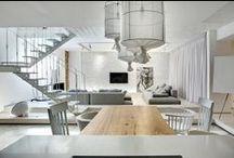 A Bright White Home / FORM Architectural Bureau / nowoczesna STODOŁA / Jasny, biały dom z organicznymi detalami.