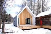 Warburg House / Bioi / nowoczesna STODOŁA / Ten niewielki, nowoczesny domek, stworzony przez studio Bioi z Calgary, powstał na farmie w miejscowości Warburg w kanadyjskiej prowincji Alberta
