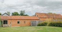 Quaker Barns / nowoczesna STODOŁA / Quaker Barns to zestaw dwóch zmodernizowanych stodół, które są częścią zabudowań rolniczych pochodzących z XVII wieku