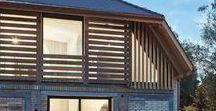 Barn Conversion / Freiluft Architektur / nowoczesna STODOŁA / Jak to możliwe, że ktoś wpadł na pomysł, by wlać ogromną ilość betonu do tradycyjnego, szwajcarskiego, wiejskiego domu?
