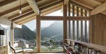 CRN House / Alp'Architecture sarl / nowoczesna STODOŁA / Ten dom został zbudowany na skraju szwajcarskiej wioski Volleges, a jego mieszkańcy cieszą się niezwykłymi widokami na dolinę Entremont.Miejscowe
