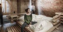 WINTER GUEST ROOM / Heri & Salli / nowoczesna STODOŁA / Pięć małych mieszkań zostało przekształconych w wyjątkowe pokoje gościnne.