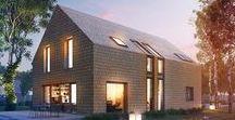 """DOM W AMBURANACH / ARCHON+ / nowoczesna STODOŁA / Projekt """"Domu w amburanach"""" to niezwykła odsłona nowoczesnego designu w architekturze."""