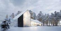 Winter House / Sergey Makhno Architects / nowoczesna STODOŁA