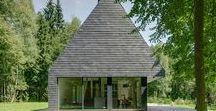 House In Trakai / AKETURI ARCHITEKTAI / nowoczesna STODOŁA / Budynek miał być  skromny, ale miał zapewniać wszystkie udogodnienia, które potrzebne są do tego, by wygodnie spędzać czas na łonie natury.