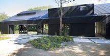 Villa Schoorl / Studio Prototype / nowoczesna STODOŁA / W tym zmodernizowanym przez Studio Prototype budynku rolniczym ważną rolę odgrywają otwarte i funkcjonalne przestrzenie