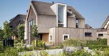 Residential Villa With Thatched Roof / FAKRO / nowoczesna STODOŁA / Ta willa kryta strzechą znajduje się w mieście Arnhem w Holandii