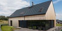 RD CHRUDIM / VRTISKA • ZAK / nowoczesna STODOŁA / To projekt domu, który został zbudowany w pobliżu miasta Chrudim we wschodnich Czechach