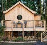 """The Birdhouse Treehouse / nowoczesna STODOŁA / The Birdhouse Treehouse, czyli """"Ptasi domek na drzewie"""