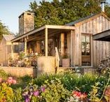 The rustic and romantic Firefly cabin / nowoczesna STODOŁA / Ten stary warsztat stolarski, ukryty w wiejskim krajobrazie Kornwalii, wydaje się być idealnym miejscem na romantyczną ucieczkę przed resztą świata