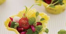Parmesan Dishes and Garnish / Dishes with parmesan and how to make garnish with parmesan.